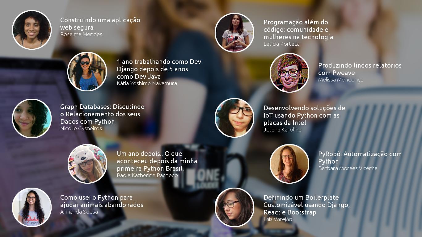 PyLadies na Python Brasil