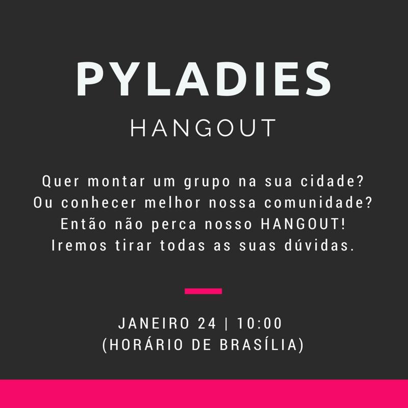 Hangout PyLadies